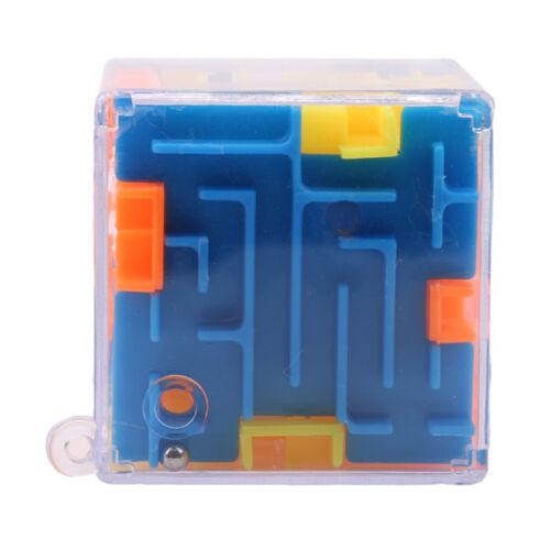 Cube Puzzle Maze Toy Hand Game Box Challenge Fidget Toys 8C