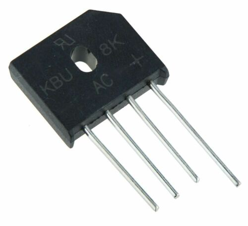 2 x KBU8K Silicone Bridge Rectifier Diode 8A 800V