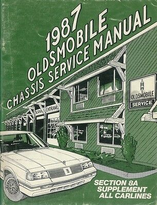 1987 Olds Electrical Diagnosis Manual 88 98 Toronado Supreme Cutlass Oldsmobile Ebay