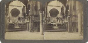 Eglise-Palerme-Palermo-Sicile-Italie-Italia-Photo-Stereo-Vintage-Citrate