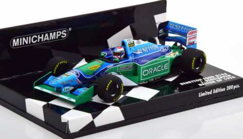 1:43 Minichamps Benneton Ford B194 GP Great Britain J.Verstappen 1994