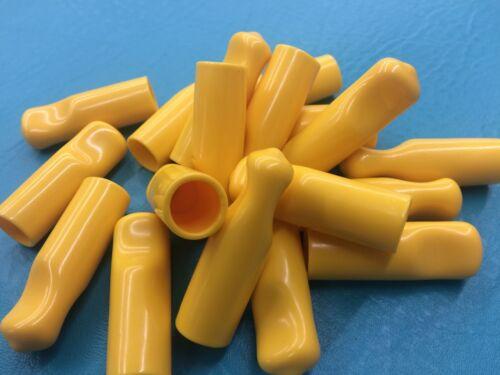 "18-1//2/"" Rubber Bolt .05 Cap Protectors Rod Tube Thread Finger Tip Pull Cover Y"