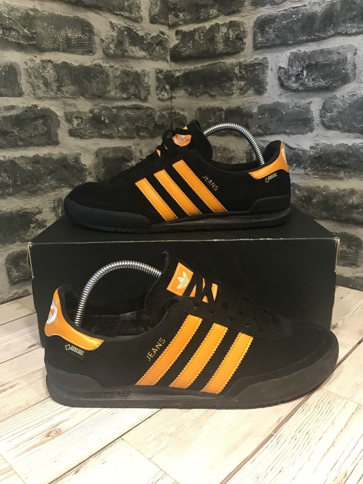 Adidas Originals Jeans GTX TG Nero Arancione Gortex S80000 Scarpe classiche da uomo