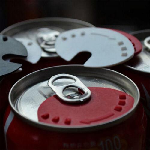 15Pcs Reusable Soda Saver Pop Beer Beverage Can Cap Top Cover Lid Protector