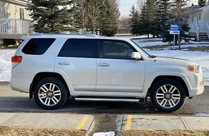 2013 Pearl White Toyota 4Runner Limited In Amazing Condition