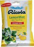 Ricola Sugar-free Cough Drops, Lemon Mint, 19 Ct (pack Of 24)
