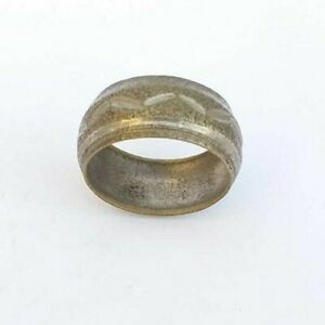 ANCIENT-RING-OF-WEEDING-HANDMADE-BRONZE-RING-ARTIFACT-VERY-OLD-EXTREMELY-RARE