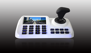Details about 5'' Colorful LED Support ONVIF 2 4 PTZ Network Keyboard  Controller For IP Camera