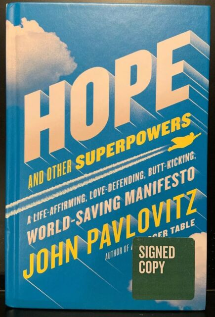 Hope and Other Superpowers by John Pavlovitz *signed Copy* Hardcover 2018
