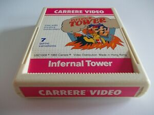 INFERNAL-TOWER-by-CARRERE-VIDEO-ATARI-2600-GAME-CARTRIDGE-TESTED-AND-WORKING