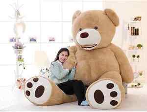 102 huge giant usa teddy bear plush life size stuffed animals xmas gift ebay. Black Bedroom Furniture Sets. Home Design Ideas