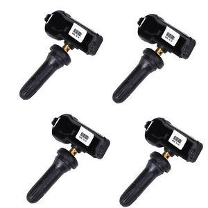 Set of 4 Genuine Ford Motorcraft Tire Pressure Sensors TPMS12 DE8T-1A180-AA