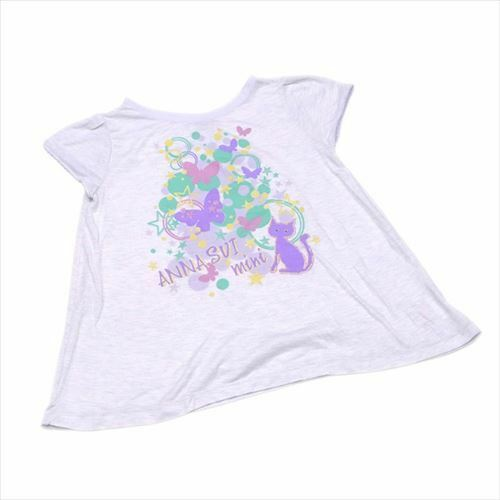 Anna Sui T-Shirts  Woman Gilrs Authentic Used T7864