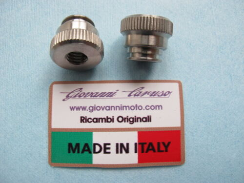 FERRARI 328  STAINLESS BATTERY LID LID SECURING NUTS SET 2