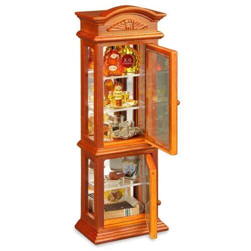 Reutter porcelana señores vitrina caballero Cabinet muñecas Tube 1:12 Art 1.714//3