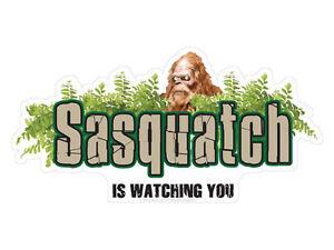 Sasquatch-is-watching-you-Bumper-Sticker