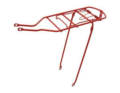 BICYCLE REAR Steel Carrier Red SCHWINN MTB ROAD  BEACH CRUISER