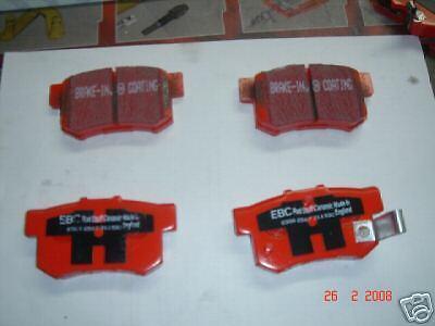 DP2642//2 EBC Greenstuff Rear Brake Pads For MG ZR 1.8 2001/>2005