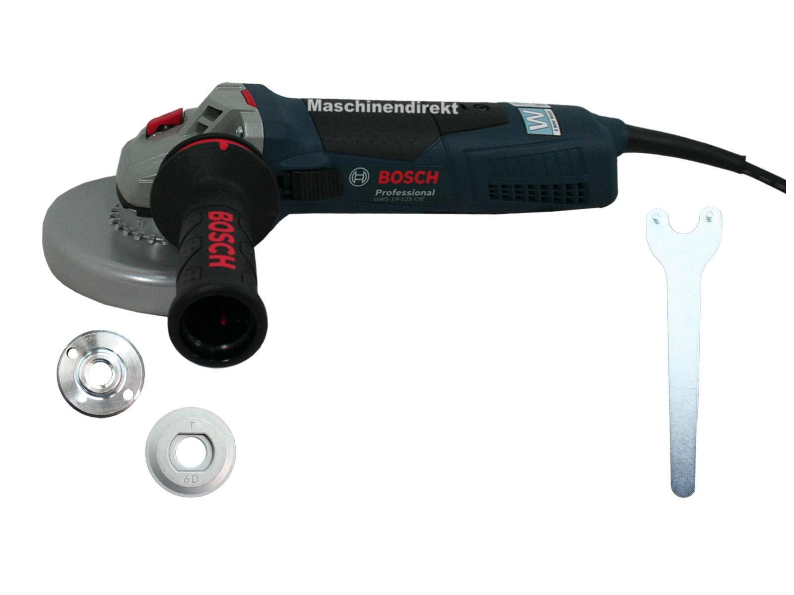 Bosch Winkelschleifer GWS 19-125 CIE Professional GWS19-125CIE