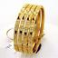 Stylish-Handmade-Dubai-Slip-On-Bangles-Bracelet-In-Solid-Hallmark-22Carat-Gold thumbnail 1