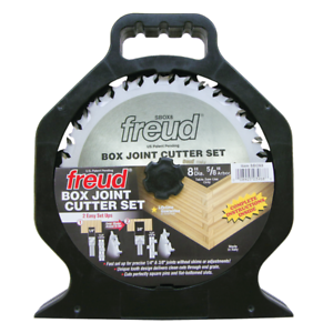 "NEW FREUD TOOLS SBOX8 8/"" BOX JOINT CUTTER SET"