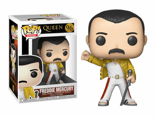 FIGURA FUNKO POP FREDDIE MERCURY CONCIERTO WEMBLEY 1986 QUEEN 96