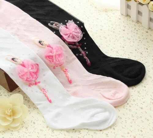 New Baby Girls Children Soft Ballet Dancing Socks Tights for 2-8 Years 8C