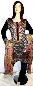 Shalwar-kameez-eid-black-pakistani-designer-salwar-sari-abaya-hijab-suit-uk-12