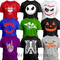 Happy Halloween SKELETON THE NIGHTMARE Pumpkin horror costume kids fancy dress