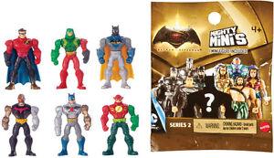 5x MATTEL /& DC MIGHTY MINI//Series 2//Mini Figure Mystery Packs//Batman v Superman