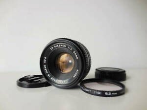 RICOH-XR-RIKENON-50mm-f2-L-K-Mount-Lens-From-Japan-Excellent-Free-Shipping