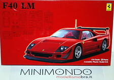 KIT FERRARI F40 LM 1/24 FUJIMI 12645 126456 RS114