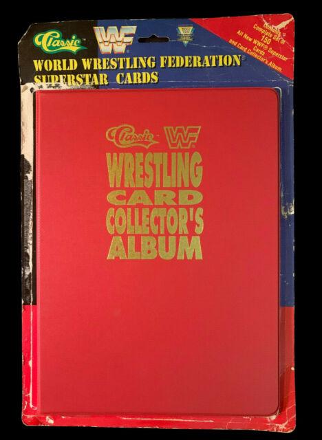 FULL SET FAC. SEALED - WWF CLASSIC WORLD WRESTLING SUPERSTAR TRADING CARDS 1991