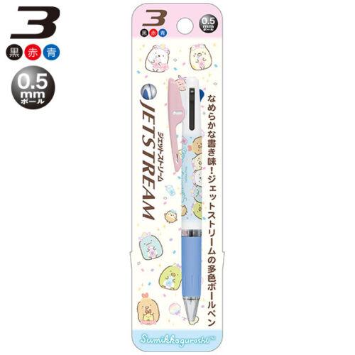 Japan San-X x Uni Rilakkuma Sumikko Gurashi Jetstream 3 Color Ballpoint Pen