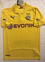 Borussia Dortmund Home Jersey Adult: Small