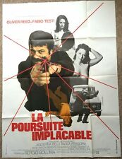 REVOLVER ORIGINAL FRENCH POSTER HUGE OLIVER REED SERGIO SOLLIMA
