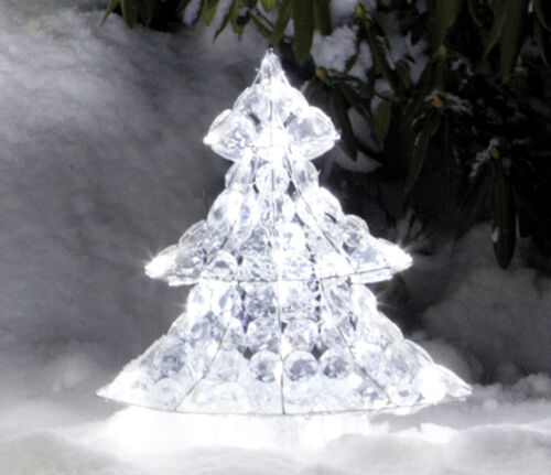 LED-sapin hauteur 62 cm éclairée de personnages Décoration