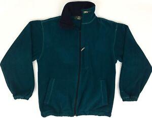 Orvis-Men-039-s-Size-Small-S-Vintage-Blue-Full-Zip-Fleece-Jacket-Coat-Liner-VTG