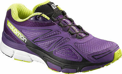 Salomon X-scream 3d Womens Trail Running Shoes Purple Offroad Trainers