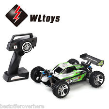 WLtoys A959-A 1:18 4WD 35km/h 2.4GHz 2CH RC Off-road Car with Shock Absorbers