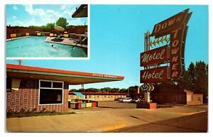 1960s-Down-Towner-Motel-Grand-Rapids-MN-Postcard
