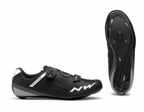 Northwave Core Plus Wide Rennrad Fahrrad Schuhe schwarz 2020