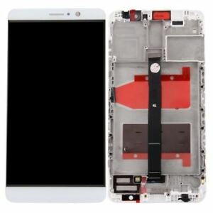 ECRAN-LCD-VITRE-TACTILE-COMPLETE-FRAME-POUR-HUAWEI-MATE-9-BLANC