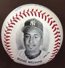 Bernie Williams 1996 BURGER KING Give Away Photo Ball YANKEES BASEBALL Free S&H