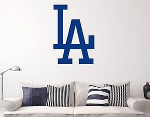Image Is Loading Los Angeles Dodgers La Wall Decal Decor Sticker
