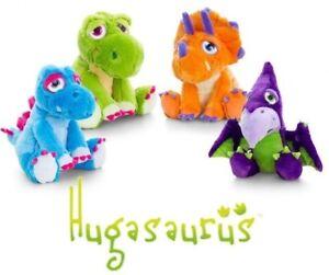 Keel-Toys-Hugasaurus-Dinosaur-10CM-KeyClip-Cuddly-Soft-Toy-Teddy-Plush