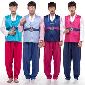 Image Is Loading Men Hanbok Dress Korean Traditional Man Set