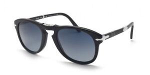 dd34c8c1123 Image is loading Persol-714-Sunglasses-714SM-Steve-McQueen-95S3-Black-