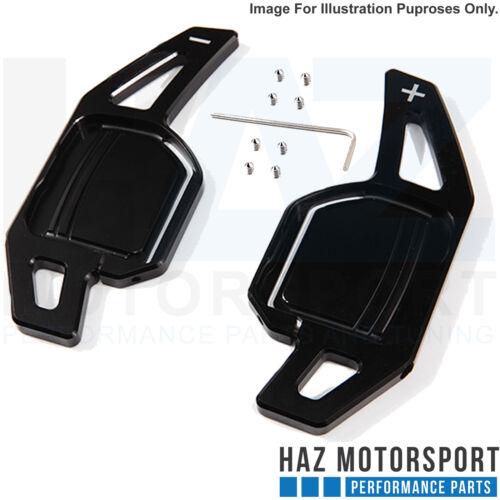 Noir Aluminium Paddle Gear Extensions DSG Shifters Leon MK3 CUPRA//FR//Tsi//Tdi