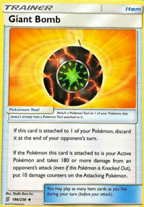 Giant-Bomb-196-236-Trainer-Card-x4-Playset-Pokemon-SM11-Unified-Minds